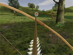 Love virtual archery, and it,s much safer for the kids!! Bowmaster HD for iPad, just like being a merry man of Sherwood