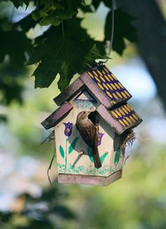 Decorative Bird Houses | Projects, tips, techniques and ideas