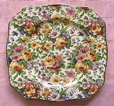LOTS OF CHINA BOARDS ................. Royal Winton Chintz China Plates