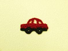 ご要望にあった車のモチーフを作ってみました。極小モチーフです。男の子の服やお道具入れに使ってくださいね^^編み図です↓かぎ針編みの編み方の基礎はこちら↓を...