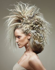 Contessa 23 Canadian Hairstylist of the Year Awards - this is awesome! reminds me of Mad Max