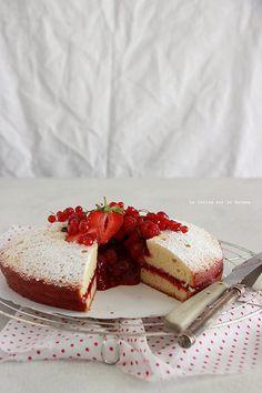 spongecake057 Victoria Sponge Cake & Confit de Fraises