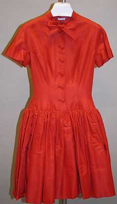 1960s Norman Norell Cocktail dress Metropolitan Museum of Art, NY