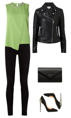 Green by lucydanvers on Polyvore featuring Dorothy Perkins, Witchery, Gucci, Cerasella Milano and Balenciaga