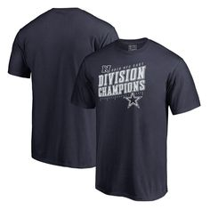 Dallas Cowboys NFL Pro Line by Fanatics Branded 2016 NFC East Division  Champions Inches T-Shirt - Navy 4bc144eac