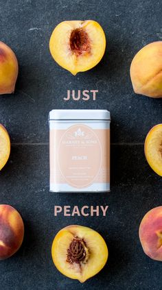 For a luscious taste of summer anytime, try our Peach Fruit #Tea!