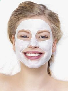 Get Flawless Skin! When youre stressed, skin can look red and blotchycombat ruddiness with mashed bananas, which contain vitamins A and E that are great for treating flakiness and toning down redness. The heavy cream in this mask also contains elastin, which will leave your skin feeling soft  supple. 1 Banana mashed well 2 Tbsp heavy cream 1.5 Tbsp honey 1.5 Tbsp flour 1 Tbsp water