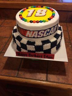 Kyle Busch cake