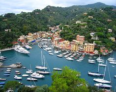 Portofino - With its dramatic tree-lined cliffs, ocean views, warm weather and delicious food, Portofino Italy is the incarnation of La Dolce Vita. Beautiful Places To Visit, Oh The Places You'll Go, Wonderful Places, Places To Travel, Travel Destinations, Holiday Destinations, Amazing Places, Corsica, Dream Vacations