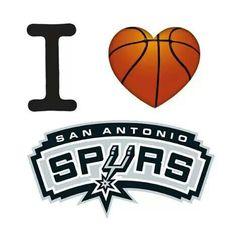I Love The San Antonio Spurs