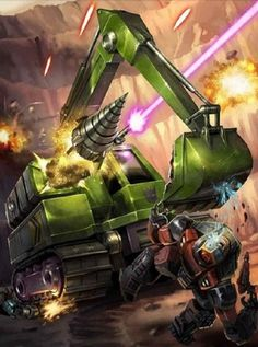 Constructicon Scavenger Artwork From Transformers Legends Game