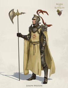 ArtStation - Royal Guards, Joseph Weston