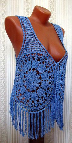 Crochet top crochet beach top crochet fashion crochet