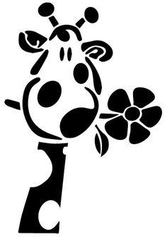 Giraffe svg Giraffe eps Giraffe silhouette by ArtPrintsLab Silhouette Files, Silhouette Design, Flower Silhouette, Vinyl Crafts, Vinyl Projects, Portrait Silhouette, Stencils, Silhouette Cameo Projects, Silhouette Cameo Freebies