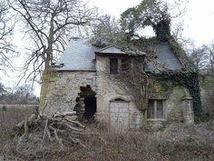 shyfaerie:    Derelict cottage by chippy1920 on Flickr.