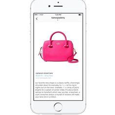 Buenas noticias para las marcas con #ecommerce!  Pronto se podrá comprar directamente desde #Instagram  Los productos de las imágenes tendrán etiquetas con info y opción de compra  link de la noticia y el video en mi facebook aunque ya te adelanto que de momento está en fase de pruebas en USA