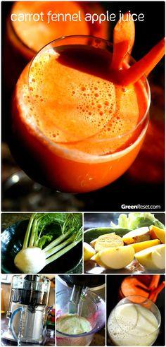 fennel carrot apple juice
