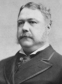 Chester A. Arthur, 21st President
