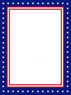 Let your child's imagination run at the head of the campaign with this free and printable USA presidential stationary border! Borders For Paper, Borders And Frames, Scrapbook Frames, Scrapbook Paper, Scrapbooking, Letterhead Paper, Flag Template, Templates, Printable Border