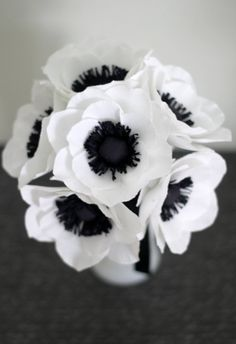 Paper Anemone by adornflowers on Etsy, $36.00