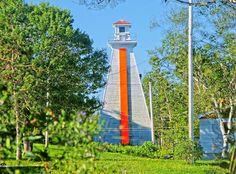 Great Bras dOr Lighthouse, Cape Breton, Nova Scotia