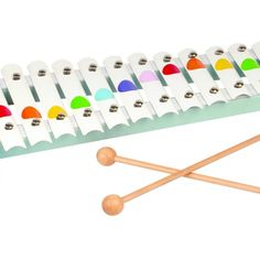 The Confetti Metal Xylophone from Janod is a wonderful first instrument and great to introduce rhythm and music to little ones. Music For Kids, My Baby Girl, Metal, Cute Kids, Confetti, Little Ones, Kids Toys, Triangle, Music Instruments