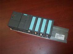 Siemens Simatic S7-300 LOADED setup 361-3CA01-0AA0 307-1EA00-0AA0   PLC  #SiemensSimaticS7300