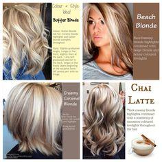 Ideas for blonde highlights via RodeoGold.com