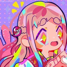 Cute Art Styles, Cartoon Art Styles, Kawaii Art, Kawaii Anime, Aesthetic Art, Aesthetic Anime, Character Art, Character Design, Tamako Love Story