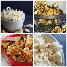 Popcorn ~ Sweet, Savory, Spicy and Covered in Chocolate!