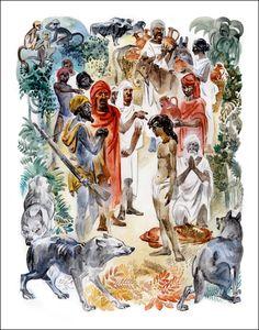 dfed9ea5961 8 Best Jungle Book illustrations images
