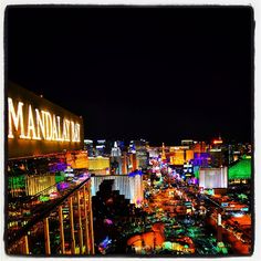 Foundation Room offers some of the best #views of #theStrip! #LasVegas