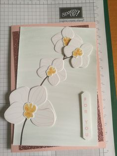 Stampin Up Climbing Orchid stamp set including dies MADE BY INEPIE