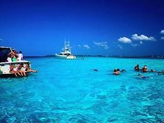 Grand Cayman Islands....the most beautiful water that I've ever seen to date....my first time snorkling, too.  Amazing