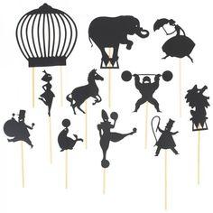 Moulin Roty Circus Shadow Puppets at alexandalexa.com