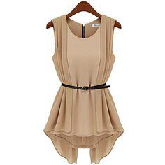 Damen Khaki Chiffonkleid U-Ausschnitt Sommerkleid Vers. Cocktailkleid Ballkleid Fashion Season, http://www.amazon.de/dp/B00LBTOMUI/ref=cm_sw_r_pi_dp_rssStb1FJJ271