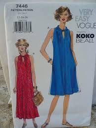Vogue 7446  2001  Size  12-16