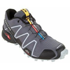 Does Dad need a new pair of Trail Running shoes? The Salomon Men's Speedcross 3 Shoe will be perfect. Salomon Speedcross 3, Trail Running Shoes, Fathers Day Gifts, Mountain Biking, Outdoor Gear, Snug, Hiking Boots, Dads, Camping