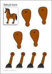 Split-pin Royal Guard and horse (SB8020) - SparkleBox Paper Puppets, Paper Toys, Pin Card, Creation Crafts, Royal Guard, Animal Crafts, Paper Models, Shrinky Dinks, Art For Kids