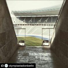 #Repost @olympiastadionberlin  Guten Morgen aus dem #OlympiastadionBerlin!  Good morning sunshine!  #berlinstagram #picoftheday #photooftheday #instagram #photography #instamoments #webstagram #followus #herthabsc #hertha #hahohe #fans #ausberlinfürberlin #ostkurve #herthaberlin #fussball #dfb #football #bundesliga #sunrise #sun #sonne