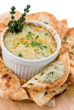 Hot Artichoke Crab Dip with Asiago Cheese
