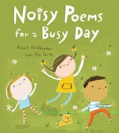 Cover image for Noisy poems for a busy day