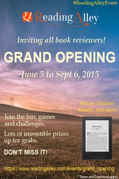 Mistral Dawn's Musings: Reading Alley Grand Opening Celebration! #ReadingA...