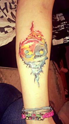 My new tattoo, ying yang ❤❤