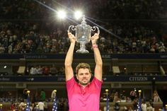 Third seed Stan Wawrinka rose to the occasion once again to beat top-seeded defending champion Novak Djokovic and win the U. Open on Sunday for the third grand slam title of his career. Us Open Final, Stan Wawrinka, Kei Nishikori, Tennis Equipment, Tennis Center, Tennis News, Tennis Championships, Billie Jean King, Us Election
