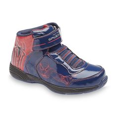Marvel Comics boys athletic shoes spider man high top toddlers size 8, 9, 10 NEW  19.99 http://www.ebay.com/itm/-/252140150187?