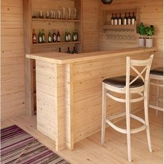 Leonhard The Home Bar Kampen Living Mini Bar At Home, Small Bars For Home, Diy Home Bar, Home Pub, Diy Bar, Small Basement Bars, Basement Bar Designs, Bar Designs For Home, Basement Bar Plans