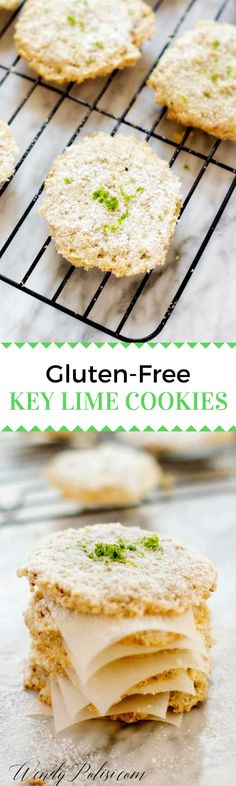 Gluten Free Key Lime Cookies #ad