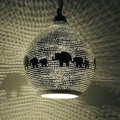 Kinderlamp Zellouma olifanten