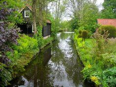 Голландская деревенька Гитхорн – маленький рай на земле - ПоЗиТиФфЧиК - сайт позитивного настроения!